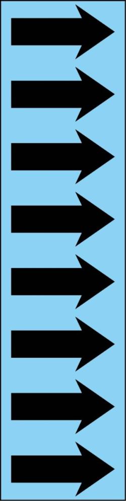 R 06 Marlin Blue Arrow Tape