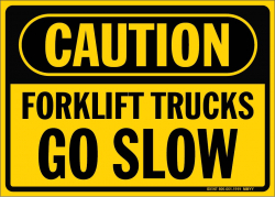 C-Forklifts Go Slow