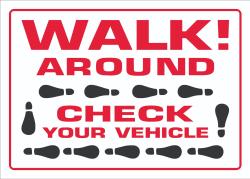 Walk Around Vehicle