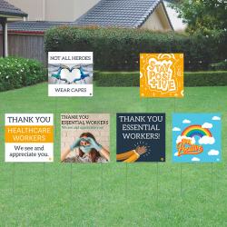 Lawn Sign Fundraiser