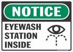 N-404 Eyewash Station Inside