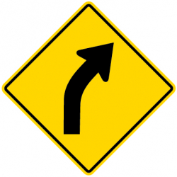 Road Curves Traffic Signs
