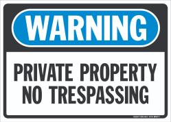 W-301 Private Property