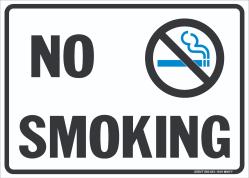 W-311 No Smoking